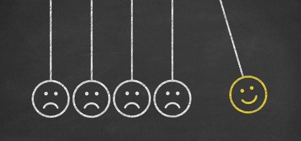 Getting stuck in the negative: And how to get out of it